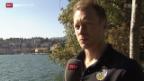 Video «Eishockey: Porträt Linus Klasen» abspielen
