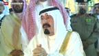 Video «Saudi-Arabiens König ist tot» abspielen