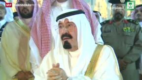 Video «Saudi Arabiens König ist tot» abspielen