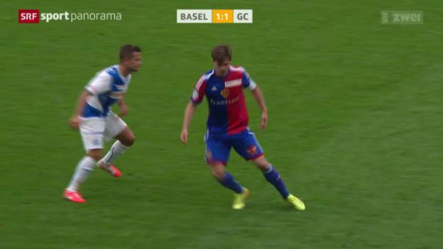 Video «Fussball: Basel - GC» abspielen
