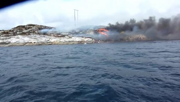 Video «Heli-Crash: Bilder von der Absturzstelle» abspielen