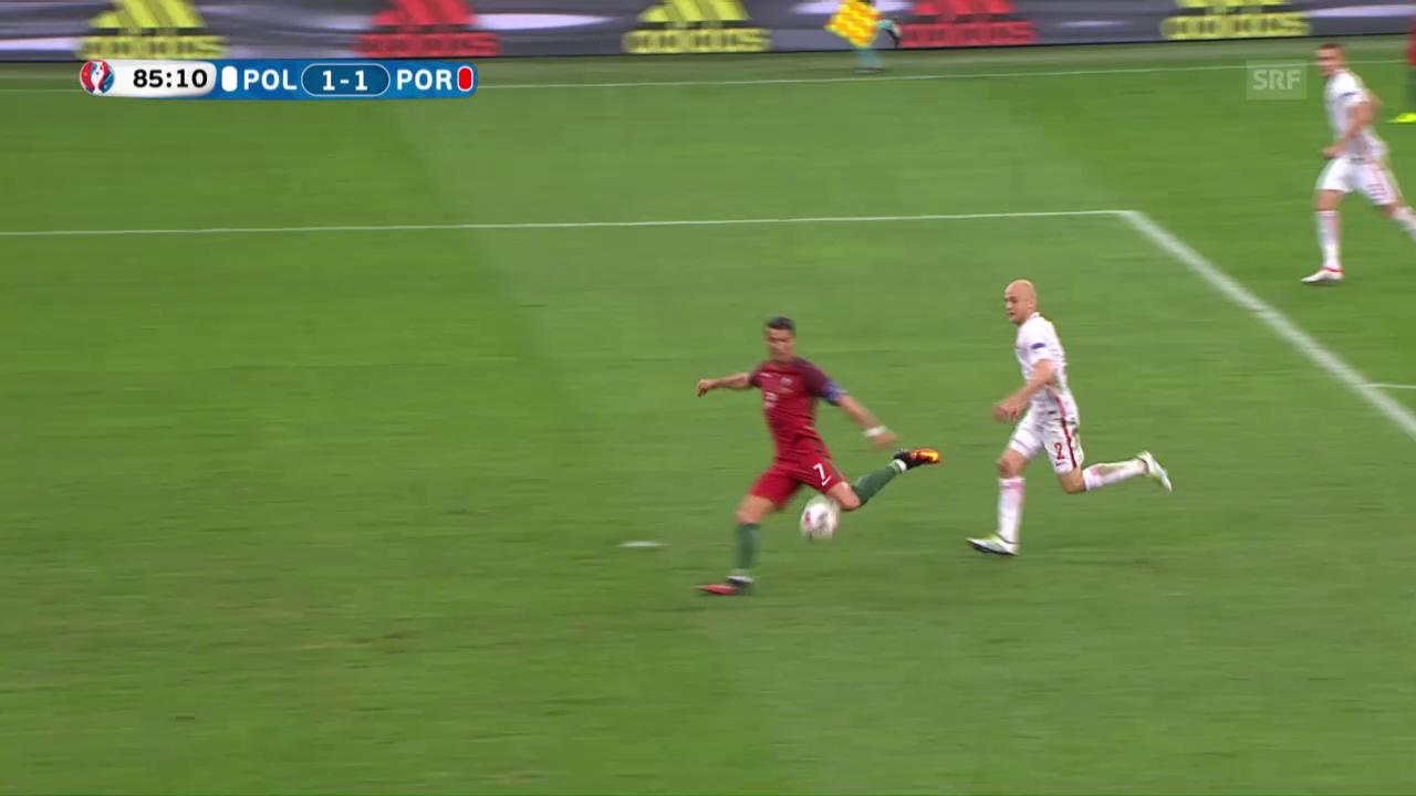 Die Live-Highlights bei Polen - Portugal