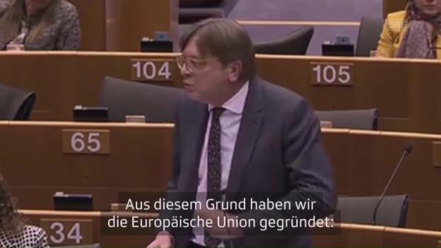 Video «Verhofstadt über Nationalismus» abspielen
