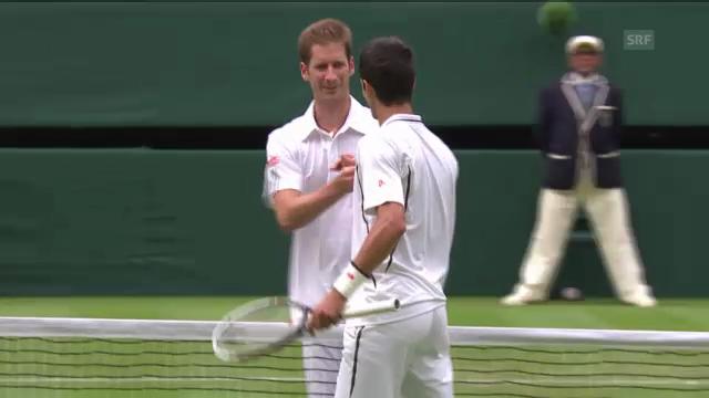 Tennis: Highlights Djokovic - Mayer («sportlive»)