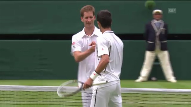 Video «Tennis: Highlights Djokovic - Mayer («sportlive»)» abspielen