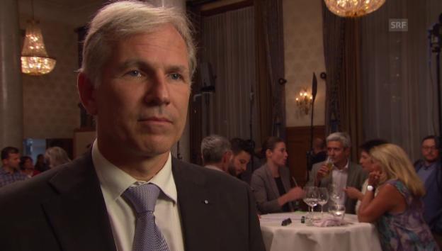 Video «Lorenz Nägelin soll für die Bürgerliche Mehrheit sorgen» abspielen
