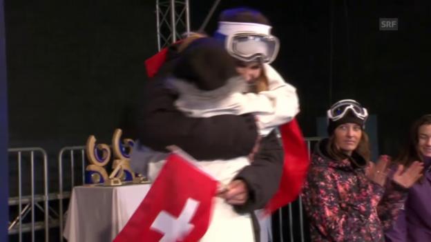 Video «Freestyle-WM: Zusammenfassung Ski-Halfpipe-Wettkampf» abspielen