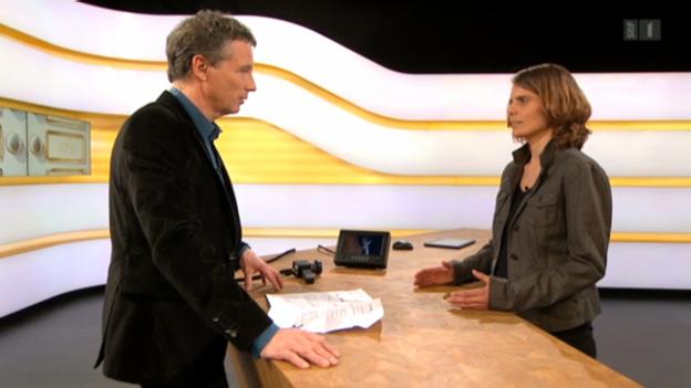 Video «Studiogespräch mit Felicitas Huggenberger vom Mieterverband Zürich» abspielen