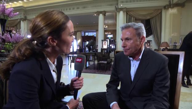 Video «NAF-Befürworter Amstutz: «Geld bei Entwicklungshilfe sparen»» abspielen