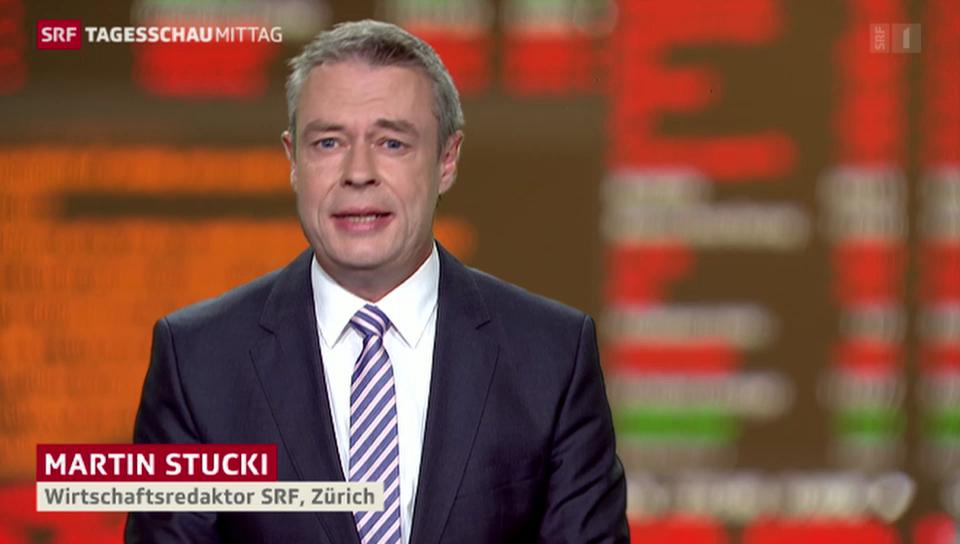 SRF-Wirtschaftsredaktor Martin Stucki über Chinas Wirtschaftswachstum