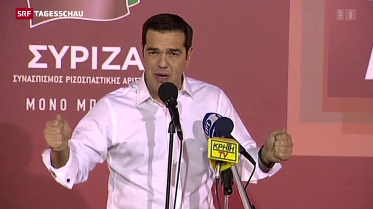 Neuer Wahlerfolg für Tsipras