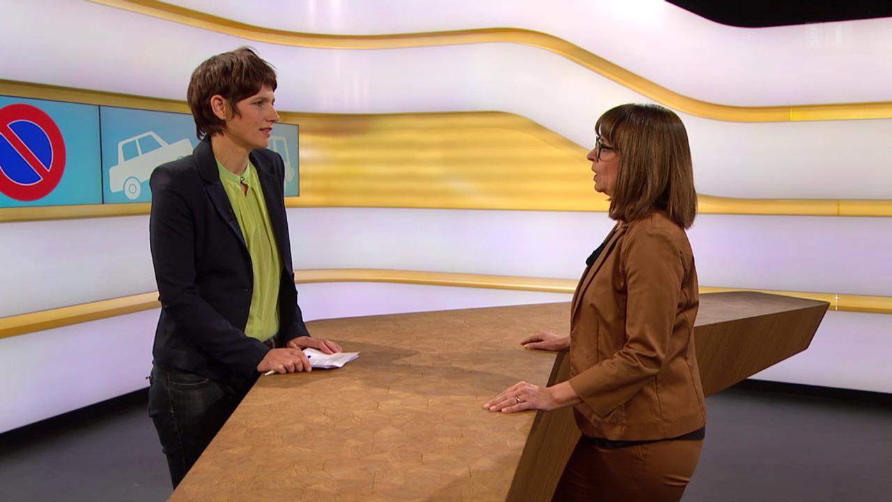 Studiogespräch mit Gabriela Baumgartner, Rechtsexpertin Kassensturz/Espresso