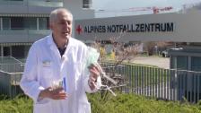Video «Frage an Chef-Spitalapotheker Enea Martinelli: Was taugen selbstgebastelte Schutzmasken?» abspielen