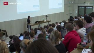 Video «Weniger Austausch-Studenten an Schweizer Unis » abspielen