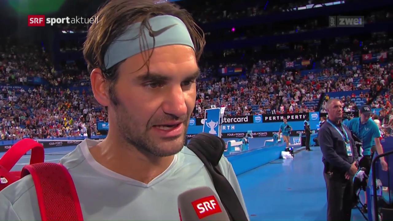 Wie steht es um Federers Form?