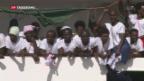 Video «90'000 versuchten Flucht übers Mittelmeer» abspielen