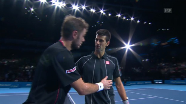 Video «Highlights Djokovic - Wawrinka» abspielen