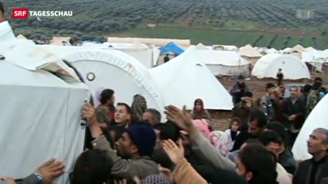 UNO fordert 1,5 Milliarden Franken für Syrien
