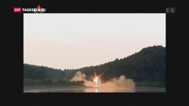 Video «Verbaler Schlagabtausch zwischen den USA und Nordkorea» abspielen