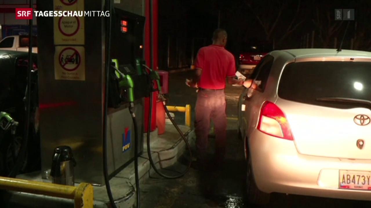 Benzin wird 13 Mal teurer in Venezuela