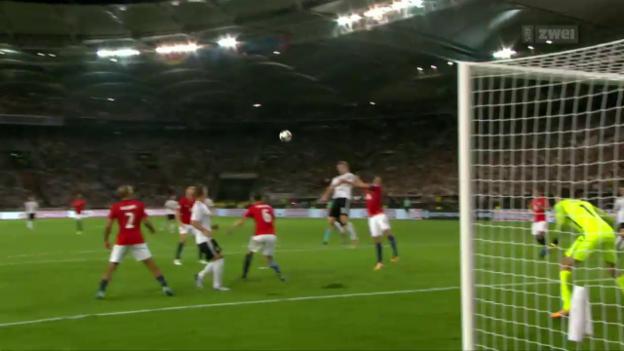 Video «Deutschland mit Kantersieg über Norwegen» abspielen