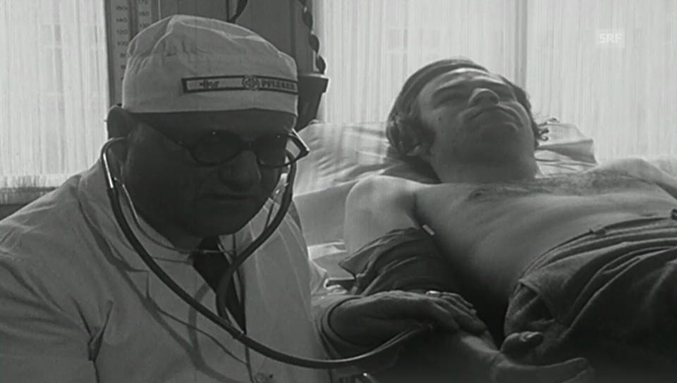 Pfleger für Journalisten (Antenne 1969)