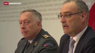 Video «Auf der Suche nach neuem Armeechef» abspielen