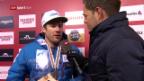 Video «Silbergewinner Jansrud im Interview» abspielen