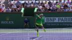 Video «Zusammenfassung Federer - Sock» abspielen
