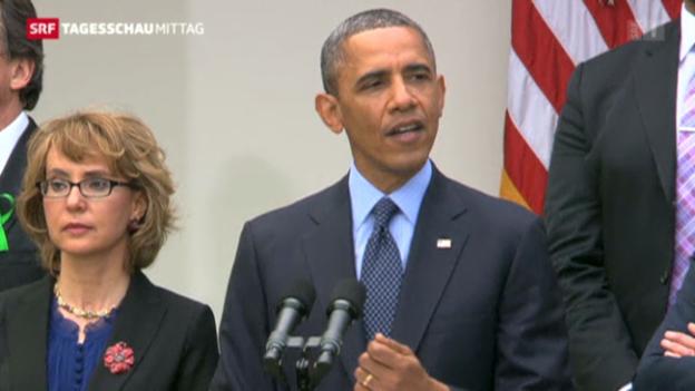 Video «Waffengesetz: Niederlage für Obama» abspielen