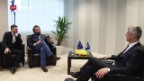 Video «Interview mit künftigem kosovarischen Präsidenten Thaçi» abspielen