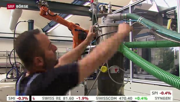 Video «SRF Börse vom 13.11.2013» abspielen