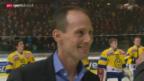 Video «Eishockey: Verabschiedung von Ivo Rüthemann» abspielen