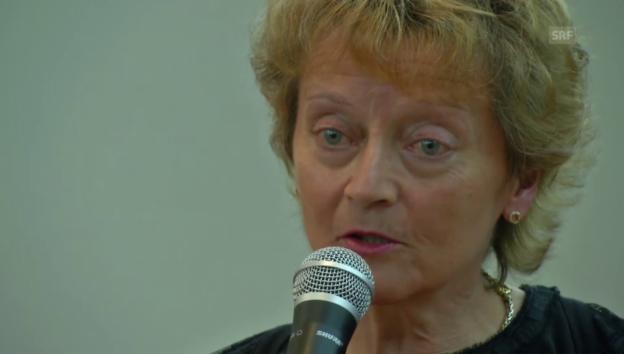 Video «Aussage von Eveline Widmer-Schlumpf (englisch)» abspielen