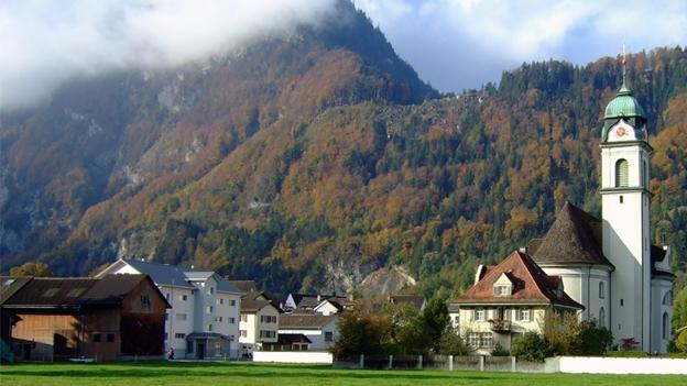 Glockengeläut der Kirche St. Fridolin und Hilarius, Näfels