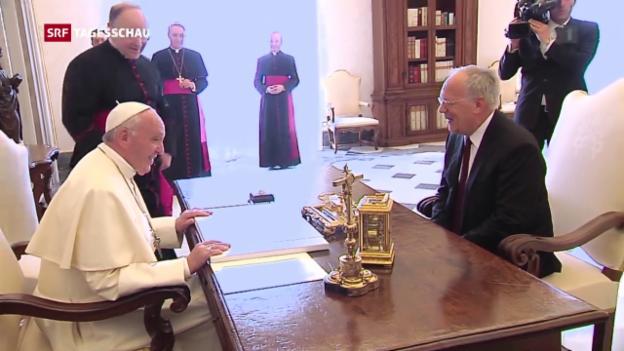Video «Audienz beim Papst» abspielen