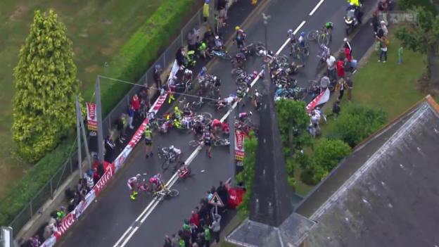 Video «Rad: Tour de France, 5. Etappe» abspielen