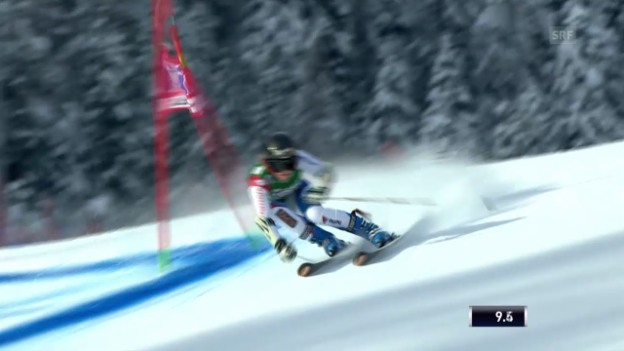 Video «Ski Alpin: Weltcup, Riesenslalom in Lienz («sportlive», 28.12.2013)» abspielen