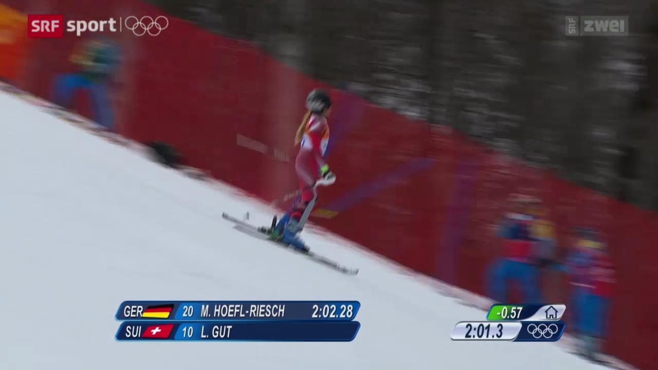 Ski: Super-Kombination der Frauen