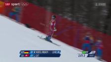 Video «Ski: Super-Kombination der Frauen» abspielen