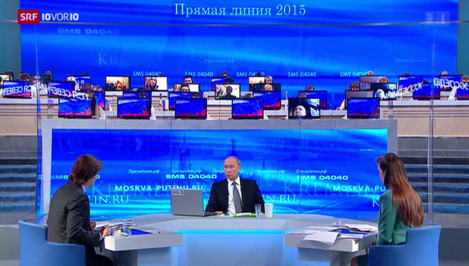 FOKUS: Fragestunde mit Wladimir Putin