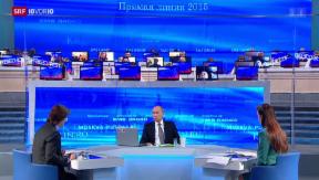 Video «FOKUS: Fragestunde mit Wladimir Putin» abspielen
