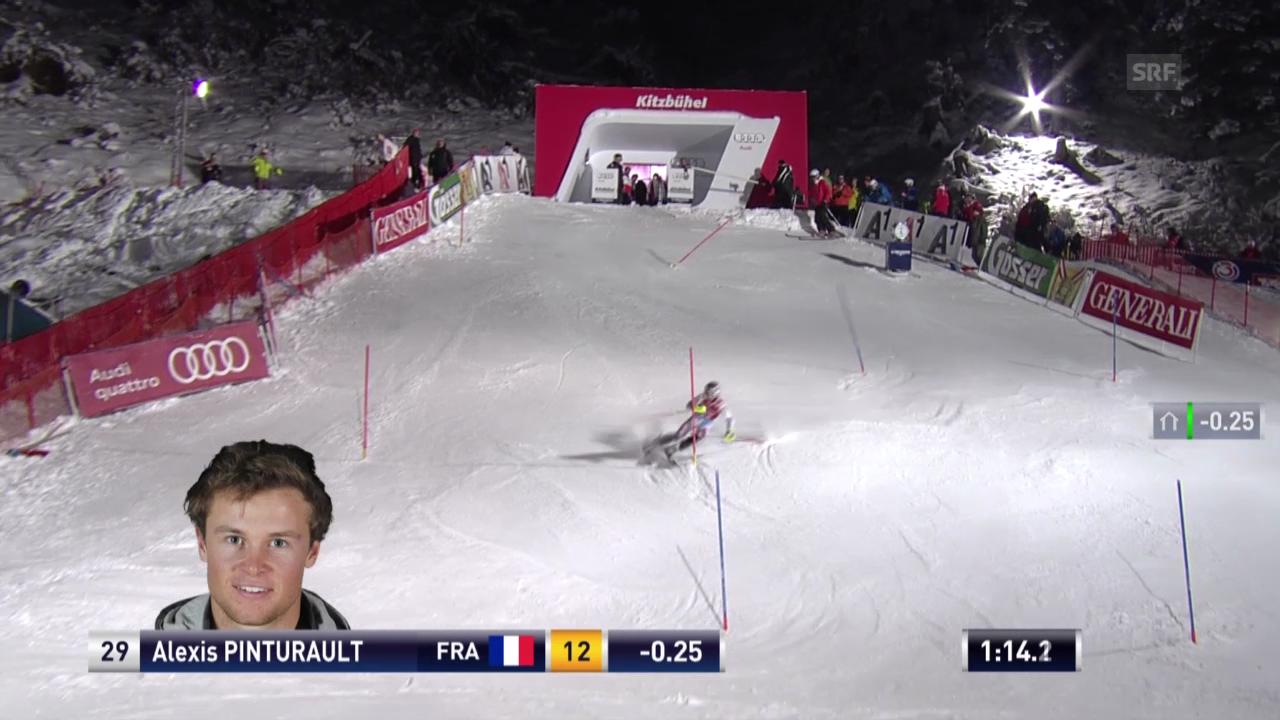 Der Slalom von Pinturault («sportlive», 26.01.14)