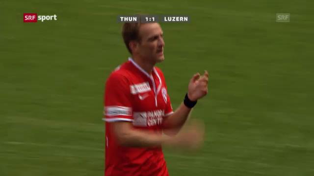 Fussball: Thun - Luzern («sportaktuell»)