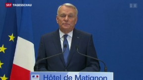 Video «François Hollande wechselt nach Wahldebakel Premierminister aus» abspielen