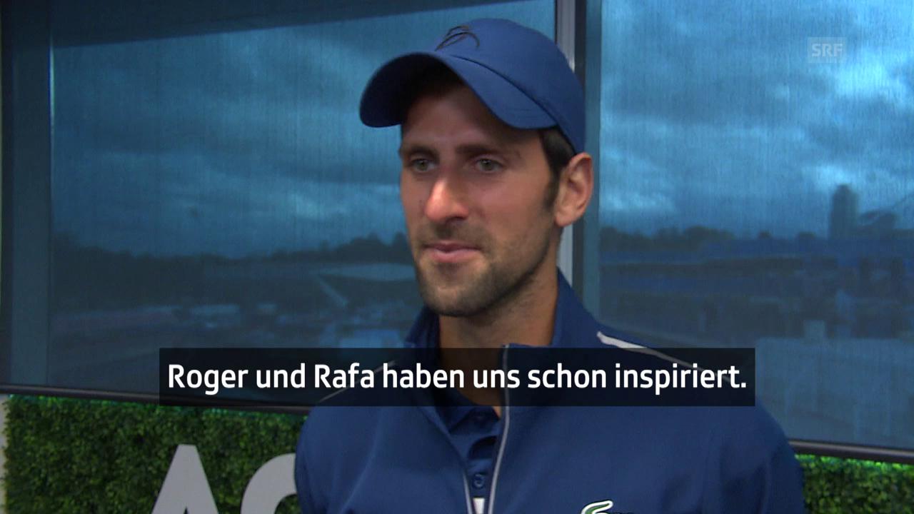 Djokovic: «Ich erwarte immer Grosses von mir»