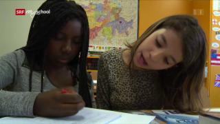 Video «3 Sprachen, 3 Schulklassen, 1 Ziel» abspielen