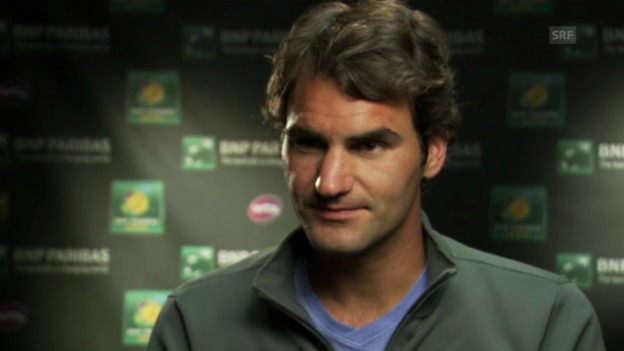 Video «Interview mit Roger Federer (13.03.2014)» abspielen