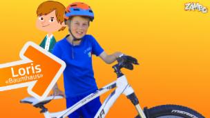 Video «Das ist Loris aus dem Bündnerland, der Profimountainbiker» abspielen