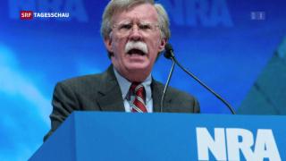 Video «Hardliner Bolton Trumps neuer Sicherheitsberater» abspielen